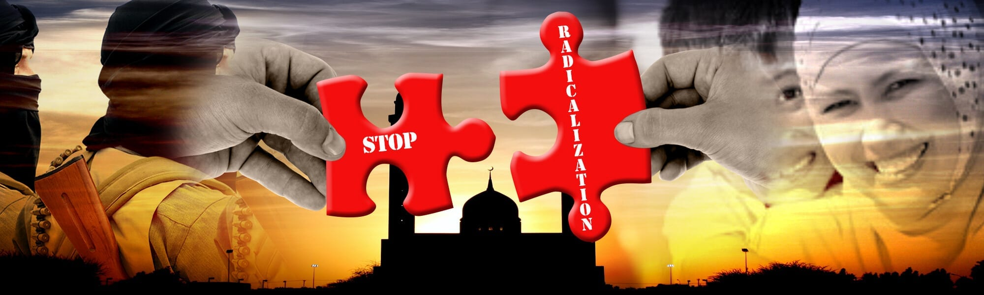 stop radicalization banner