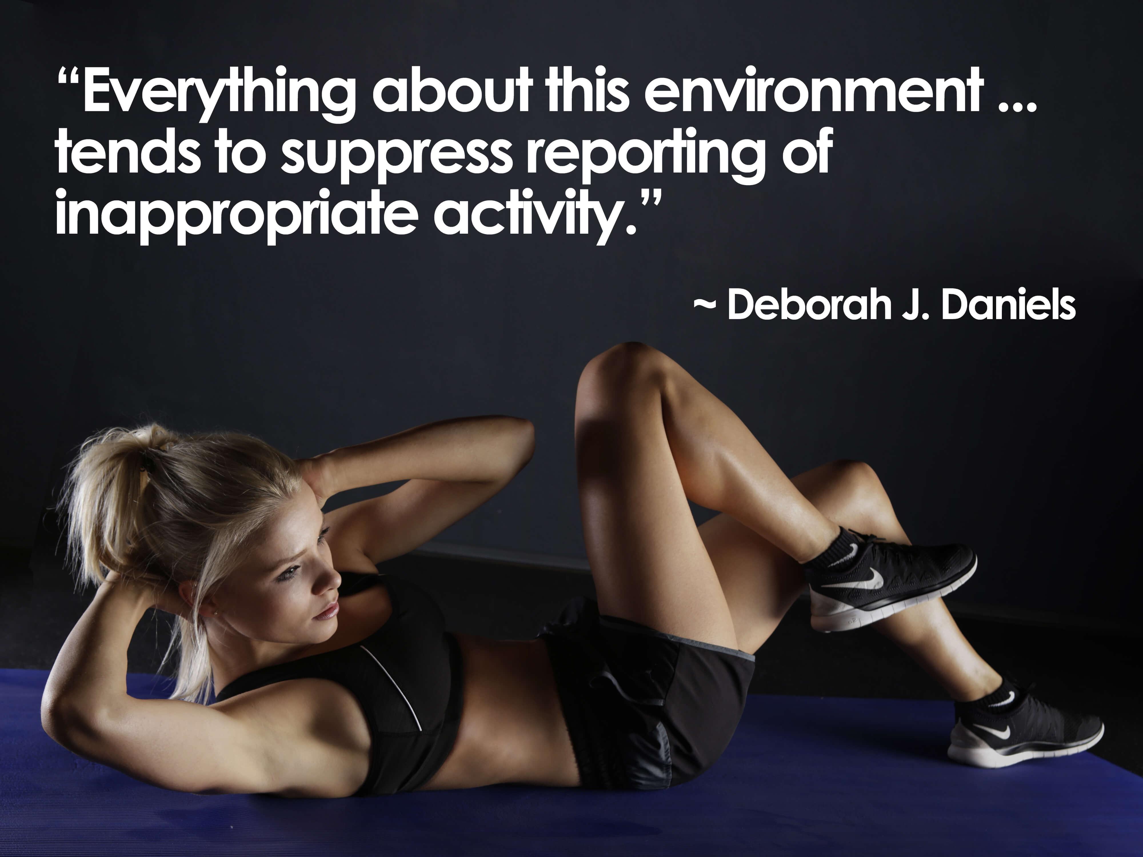 Deborah J. Daniels quote re USGA